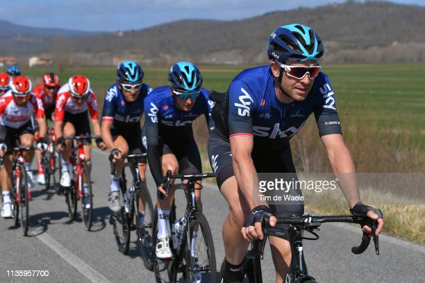 Ian Stannard of the United Kingdom and Team Sky / during the 54th TirrenoAdriatico 2019 Stage 3 a 226km stage from Pomarance to Foligno /...