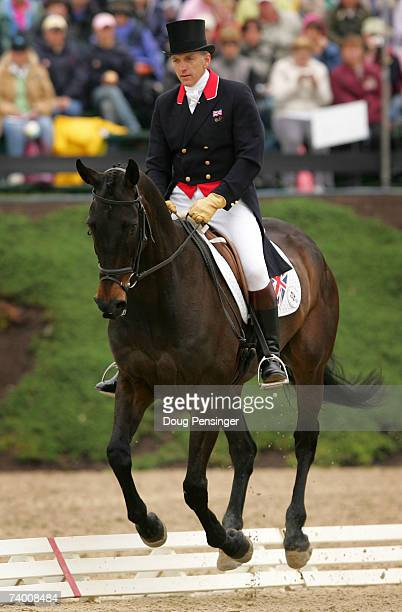 Ian Stark of Selkirk, Borders, Scotland atop Full Circle II competes in the Dressage Phase of the 2007 Rolex Kentucky Three-Day Event at the Kentucky...