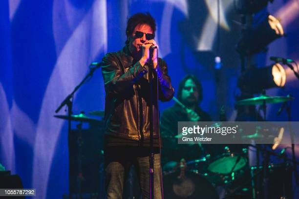 Ian Stephen McCulloch of Echo The Bunnymen performs live on stage during a concert at Admiralspalast on October 31 2018 in Berlin Germany