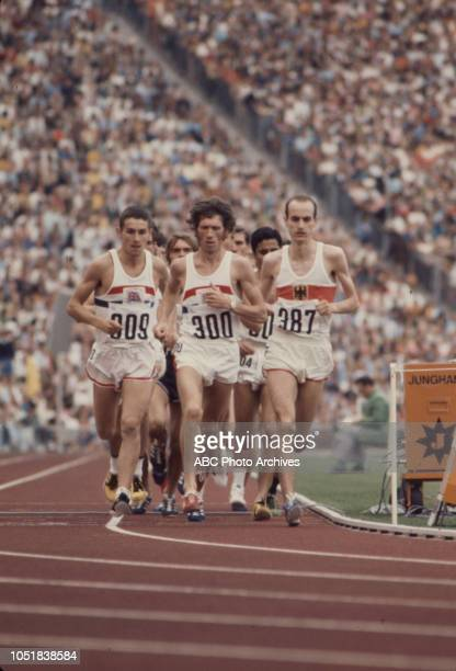 Ian Stewart Ian McCafferty Harald Norpoth competing in the Men's 5000 metres event at the 1972 Summer Olympics / the Games of the XX Olympiad...