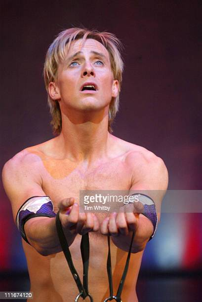 """Ian Watkins during H Makes his West End Debut in """"Joseph and the Amazing Technicolor Dreamcoat"""" at The New London Theatre in London, Great Britain."""