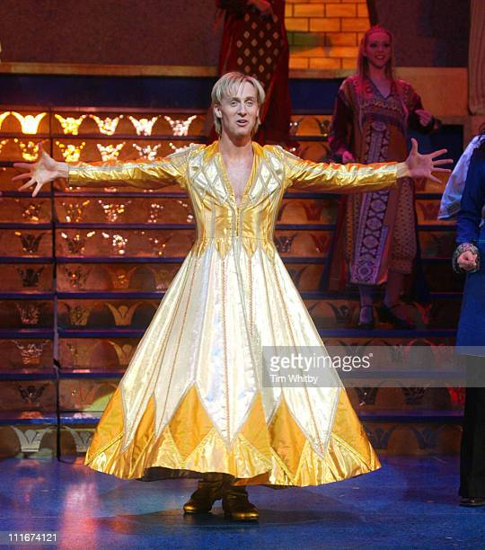 Ian Watkins during H Makes his West End Debut in 'Joseph and the Amazing Technicolor Dreamcoat' at The New London Theatre in London Great Britain