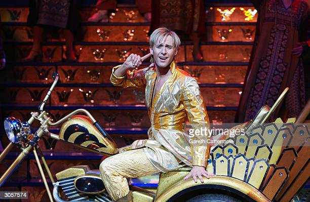 """Ian Watkins, formerley 'H' of band """"Steps"""", attends photocall to celebrate making his West End debut as lead character Joseph in Andrew Lloyd..."""