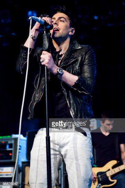 Ian Watkins of Lost Prophets performs at the Roundhouse during day two of The Camden Crawl on May 2 2010 in London England