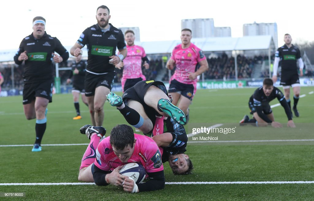 Glasgow Warriors v Exeter Chiefs -  Champions Cup