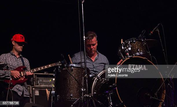 Ian Williams and John Stanier of Battles perform at Primavera Sound Day 2 on June 2 2016 in Barcelona Spain
