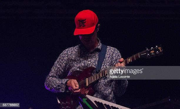 Ian Williams of Battles performs at Primavera Sound Day 2 on June 2 2016 in Barcelona Spain