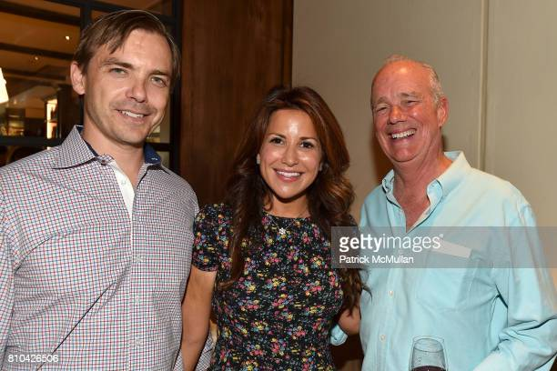 Ian Woods Gigi Stone and Guest attend eBay Hosts July 4th Benefit for Sag Harbor Cinema Restoration Project at Lulu Kitchen and Bar on July 3 2017 in...