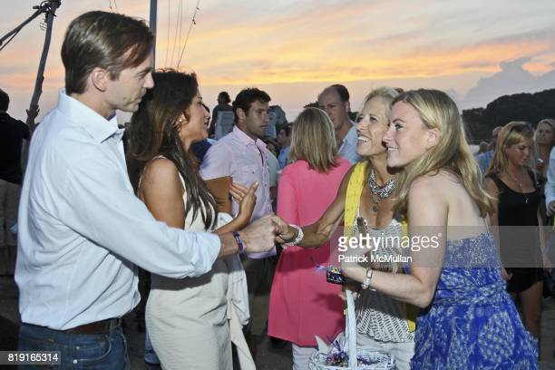 Ian Woods Gigi Stone Lucy Danziger and Laura Brounstein attend Celebrating Dylan Lauren as new contributing editor to Self Magazine on July 17 2010...