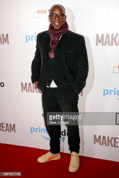 Ian Wright attends the World Premiere of 'Make Us Dream' at The Curzon Soho on November 14 2018 in London England
