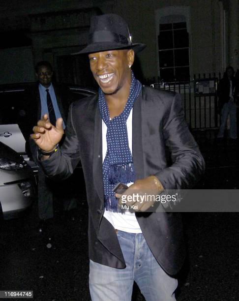 Ian Wright during Ant and Dec 30th Birthday Party at No 5 Cavendish Square in London Great Britain
