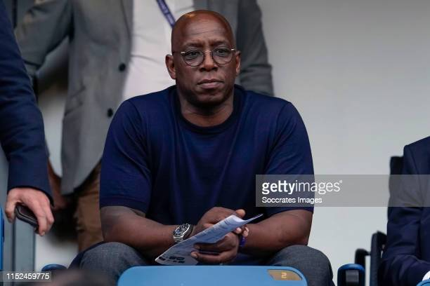 Ian Wright during the World Cup Women match between Norway v England at the Stade Oceane on June 27 2019 in Le Havre France