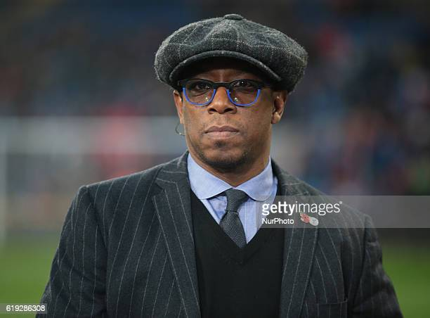 Ian Wright Ex Crystal Palace during the Premier League match between Crystal Palace and Liverpool at Selhurst Park London, England on 29 October 2016.