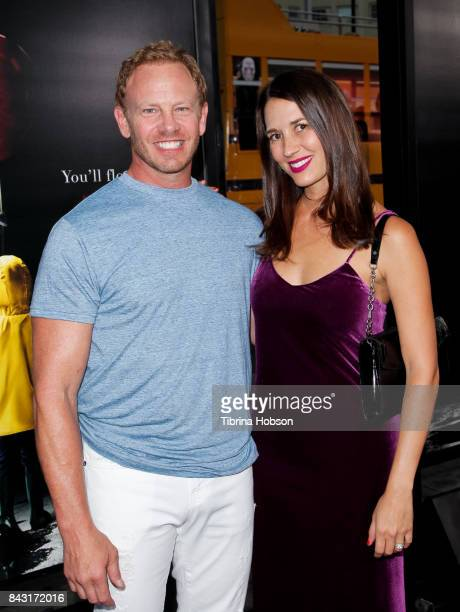 Ian Ziering and Erin Ziering attend the premiere of 'It' at TCL Chinese Theatre on September 5 2017 in Hollywood California