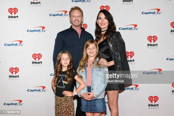 Ian Ziering and family attend the 2019 iHeartRadio Music Festival at TMobile Arena on September 20 2019 in Las Vegas Nevada