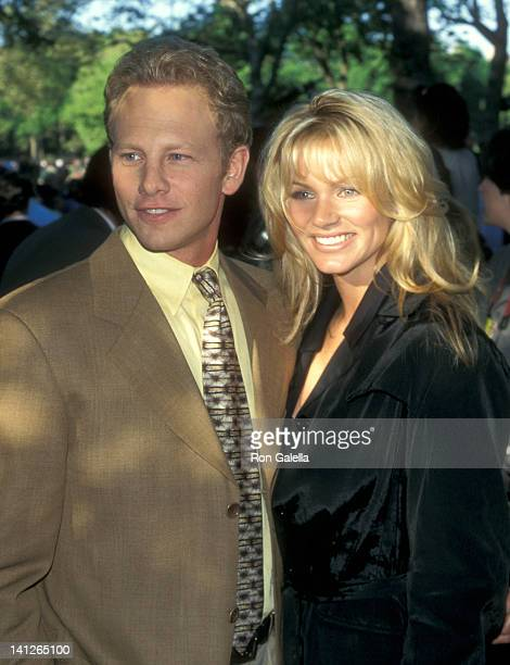 Ian Ziering and Nikki Schieler at the FOX Television UpFront Party Tavern on the Green New York City