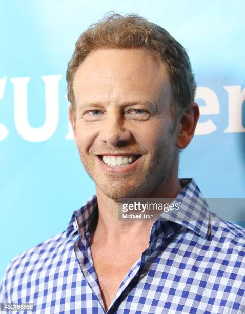 Ian Ziering arrives at the 2014 Television Critics Association Summer Press Tour - NBCUniversal - Day 2 held at The Beverly Hilton Hotel on July 14,...