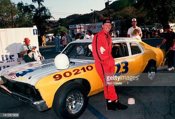 Ian Ziering at the Reid Rondell Celebrity Car Race Saugus Speedway Saugus