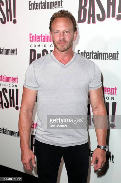 Ian Ziering attends Entertainment Weekly's ComicCon Bash held at FLOAT Hard Rock Hotel San Diego on July 21 2018 in San Diego California sponsored by...