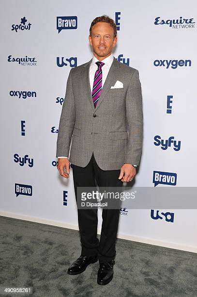 Ian Ziering attends the 2014 NBCUniversal Cable Entertainment Upfronts at The Jacob K. Javits Convention Center on May 15, 2014 in New York City.