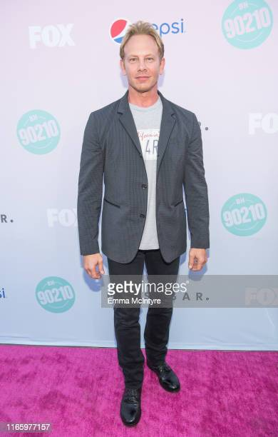 Ian Ziering attends the Beverly Hills 90210 Peach Pit PopUp on August 03 2019 in Los Angeles California