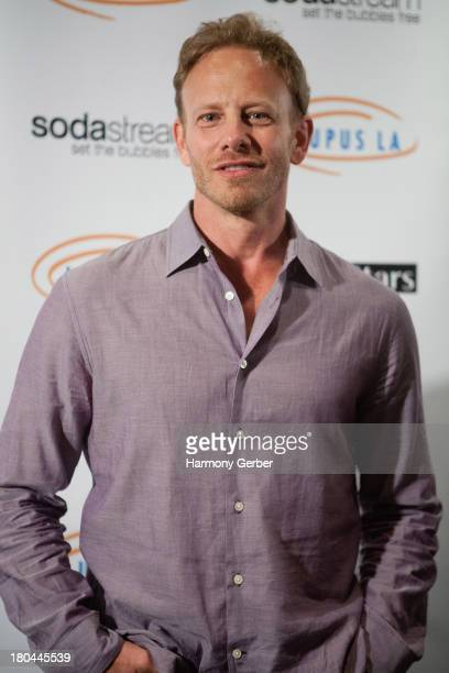 Ian Ziering attends the Get Lucky For Lupus LA event at Peterson Automotive Museum on September 12 2013 in Los Angeles California