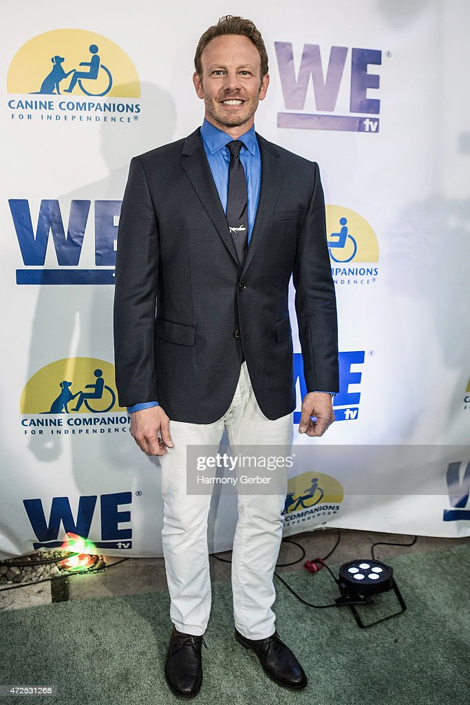 Ian Ziering attends the WETv 'Pet Project' To Raise Awareness For Canine Companions For Independence at Boulevard3 on May 7, 2015 in Hollywood, California.