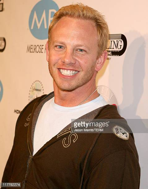 Ian Ziering during 'Beverly Hills 90210' and 'Melrose Place' DVD Launch Party Pink Carpet at Beverly Hilton in Beverly Hills California United States