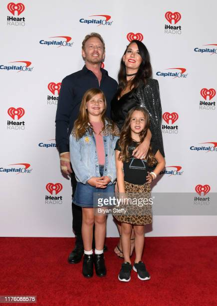 Ian Ziering Erin Ludwig Loren Ziering and Penna Ziering attend the 2019 iHeartRadio Music Festival and Daytime Stage at TMobile Arena on September 20...