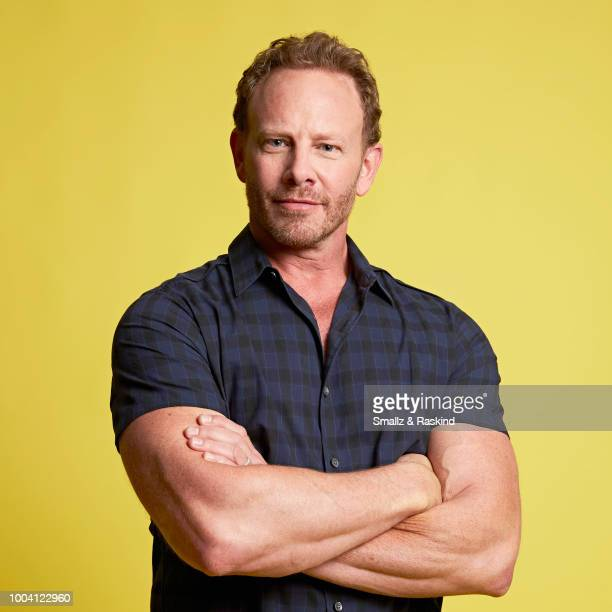 Ian Ziering from Syfy's 'The Last Sharknado It's About Time' poses for a portrait at the Getty Images Portrait Studio powered by Pizza Hut at San...