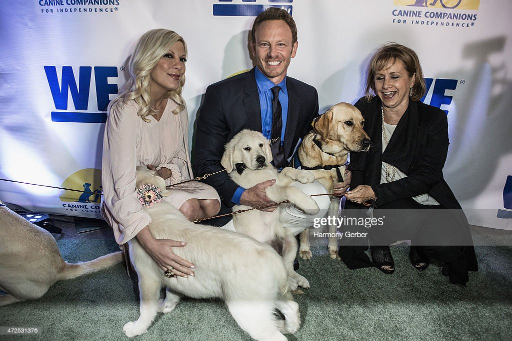 "WETv Hosts Ian Ziering's ""Pet Project"" To Raise Awareness For Canine Companions For Independence"