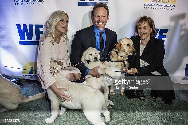 Ian Ziering Gabrielle Carteris and Tori Spelling attend the WETv Pet Project To Raise Awareness For Canine Companions For Independence at Boulevard3...