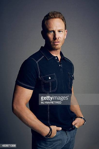 Ian Ziering poses for a portrait at the Getty Images Portrait Studio powered by Samsung Galaxy at ComicCon International 2014 on July 24 2014 in San...