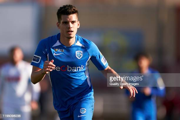 Ianis Hagi of KRC Genk looks on during a friendly match between 1 FC Koeln and KRC Genk on January 10 2020 in La Nucia Spain