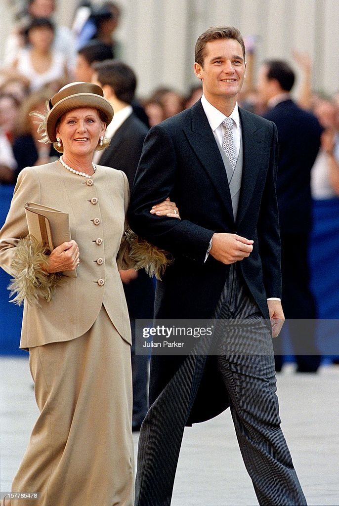 Ianki S Mother Claire Liebaert At The Wedding Of Infanta Cristina Spain And Inaki Urdangarin