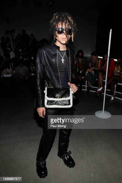 Iann Dior attends Kenneth Nicholson during NYFW: The Shows at Gallery at Spring Studios on September 12, 2021 in New York City.