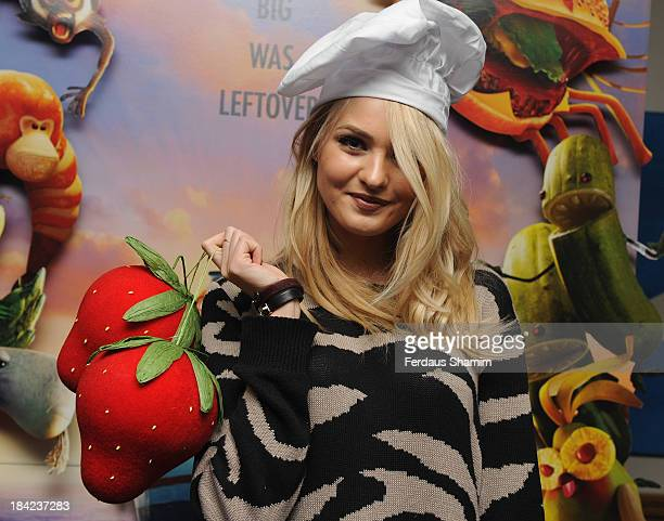 Ianthe Rose CochraneStack attends a screening of Cloudy With A Chance Of Meatballs 2 at Soho Hotel on October 12 2013 in London England