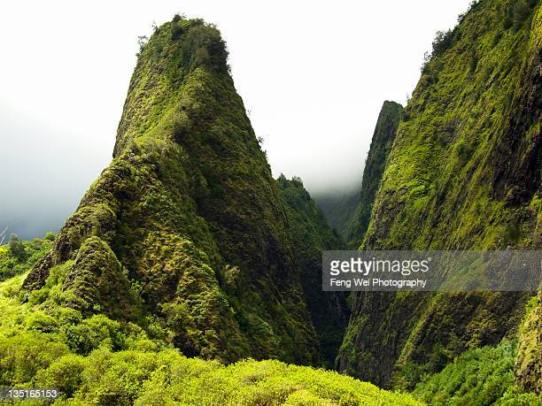 Iao Needle on Iao Valley, Maui Hawaii