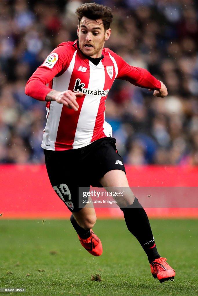 Ibai Gomez of Athletic Bilbao during the La Liga Santander ...