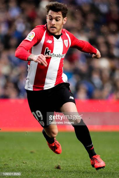 Ibai Gomez of Athletic Bilbao during the La Liga Santander match between Real Sociedad v Athletic de Bilbao at the Estadio Anoeta on February 2 2019...