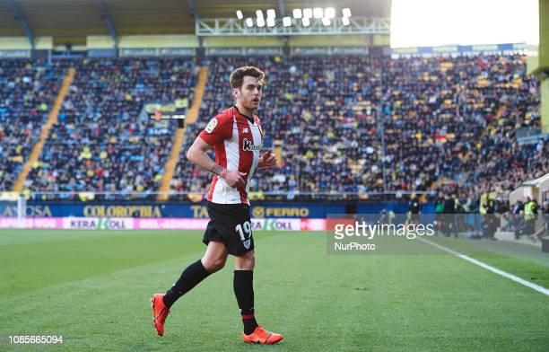 Ibai Gomez of Athletic Club de Bilbao during the La Liga Santander match between Villarreal and Athletic Club de Bilbao at La Ceramica Stadium on...