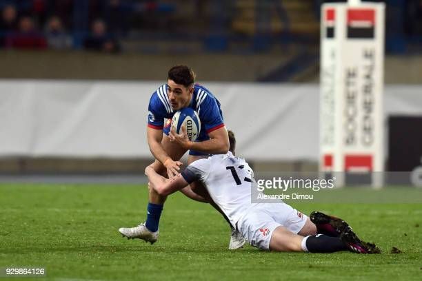 Iban Etcheverry of France during the RBS Six Nations match between France and England at Stade de la Mediterranée on March 9 2018 in Beziers France