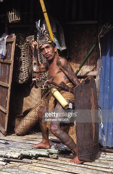 Iban Tattoos of Borneo In Malaysia In 1994