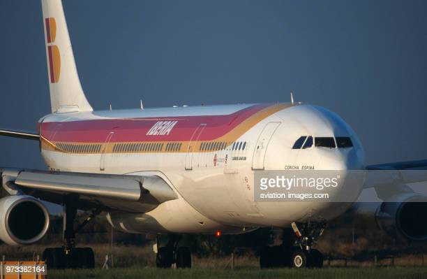 Iberia Airbus A340300 taxiing