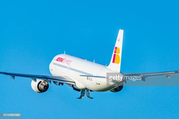 Iberia Express taking off from Amsterdam Airport Schiphol