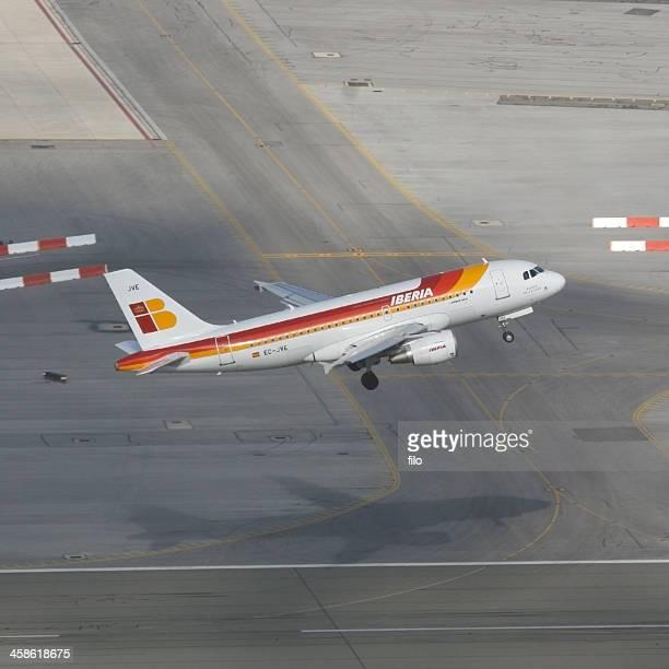 Iberia Avión despegando
