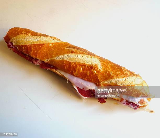 Iberian ham sandwich