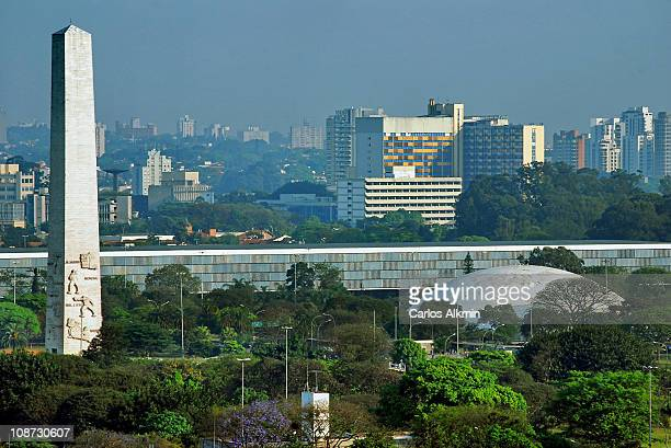Ibirapuera Park from the heights