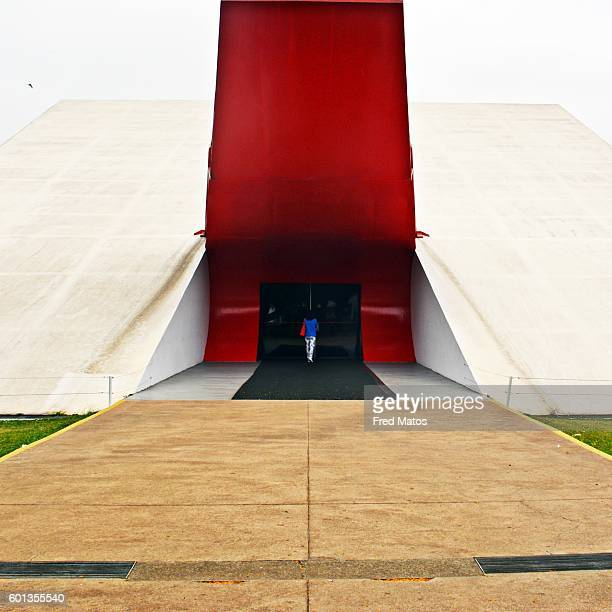 ibirapuera park - parque do ibirapuera - museu de arte moderna - arte stock pictures, royalty-free photos & images