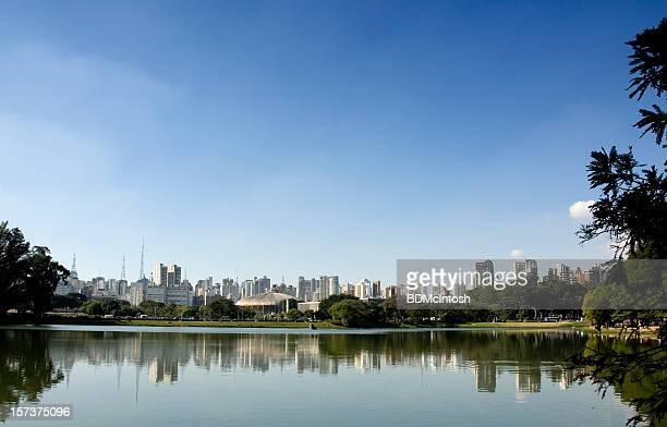 Parque do Ibirapuera, em São Paulo, Brasil